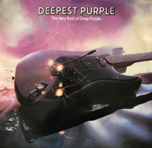 Deep Purple - Deepest Purple: The Very Best Of Deep Purple (LP) (VG-/G)